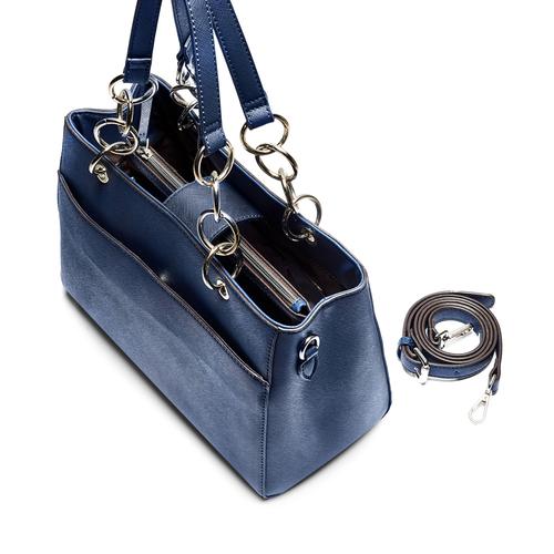 Borsa a spalla bata, blu, 961-9343 - 17