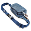 Marsupio da uomo bata, blu, 969-9247 - 17