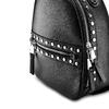 Zainetto con ampia zip bata, nero, 961-6315 - 15