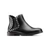 Ankle Boots con occhielli  bata, nero, 591-6806 - 13