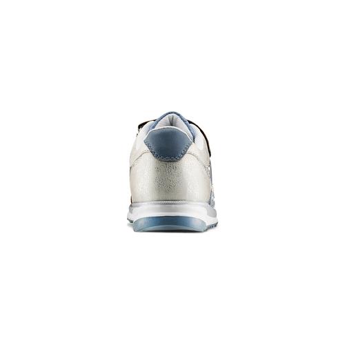 Sneakers da bimba con strass mini-b, blu, 329-9348 - 15