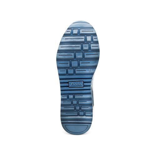 Sneakers da bimba con strass mini-b, blu, 329-9348 - 19