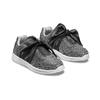 Sneakers da bambina con fiocco mini-b, nero, 329-6341 - 16