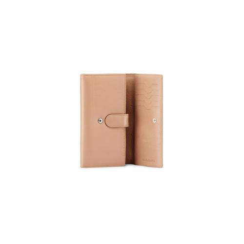 Portafoglio in pelle bata, beige, 944-3133 - 16