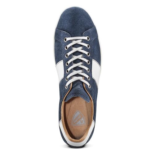 Sneakers da uomo atletico, blu, 843-9157 - 15