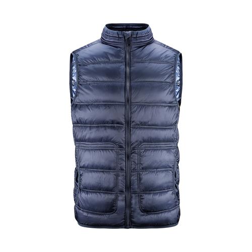 Giubbotto senza maniche da uomo bata, blu, 979-9113 - 13