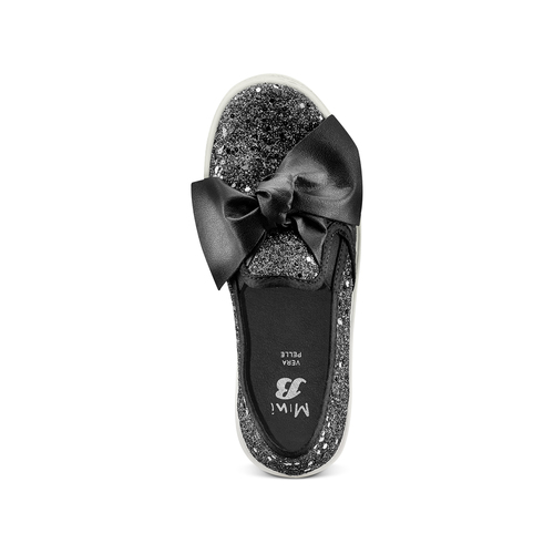 Slip On da bambina mini-b, nero, 329-6337 - 17