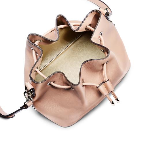 Borsa a secchiello con stelle bata, rosa, 961-5258 - 16