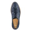 Stringate Brogue da uomo bata, blu, 823-9324 - 17