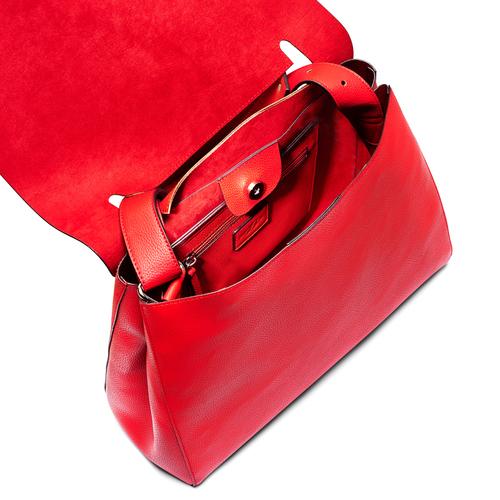 Borsa a spalla bata, rosso, 961-5303 - 16