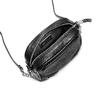 Tracolla con trafori bata, nero, 961-6248 - 16