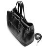 Shopper da donna bata, nero, 961-6209 - 17