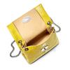 Minibag in vera pelle bata, giallo, 964-8249 - 16