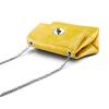 Minibag in vera pelle bata, giallo, 964-8249 - 17