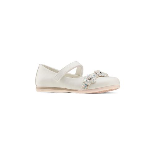 Ballerine da bambina mini-b, bianco, 229-1106 - 13