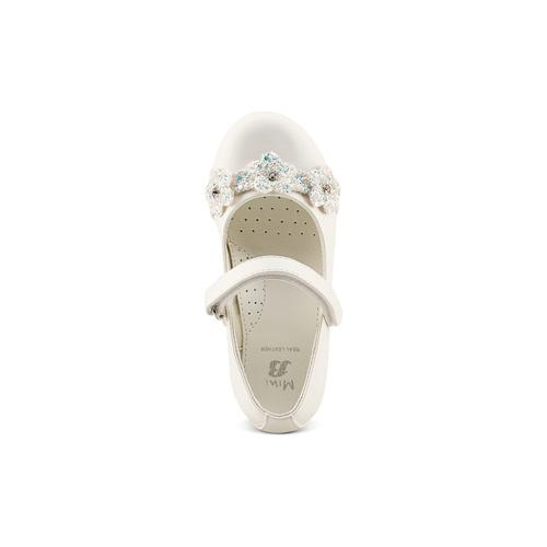 Ballerine da bambina mini-b, bianco, 229-1106 - 17