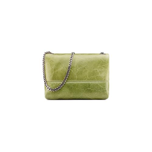 Minibag in vera pelle bata, verde, 964-7269 - 26