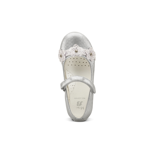 Ballerine da bimba mini-b, grigio, 229-2106 - 17