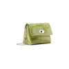 Minibag in vera pelle bata, verde, 964-7269 - 13
