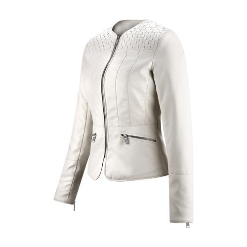 Giacca corta da donna bata, bianco, 971-1207 - 16