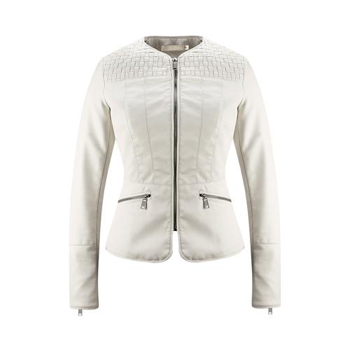 Giacca corta da donna bata, bianco, 971-1207 - 13