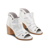 Sandali con effetto arricciato bata, grigio, 724-2192 - 16