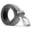 Cintura in suede bata, grigio, 953-8115 - 26