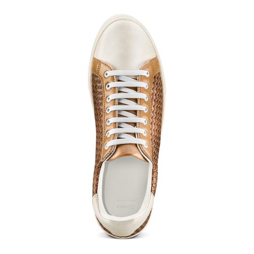 Sneakers da uomo bata, marrone, 841-3338 - 17