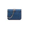 Tracolla in Jeans con patch bata, blu, 969-9321 - 26