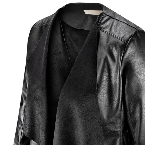 Giacca asimmetrica da donna bata, nero, 971-6185 - 15