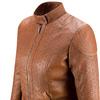 Giubbotto da donna con trafori bata, marrone, 971-3202 - 15