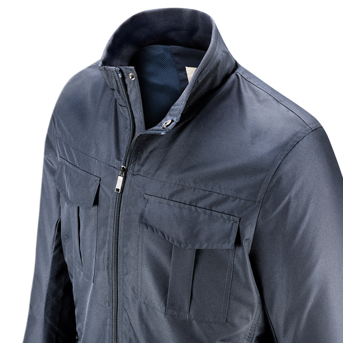 Giacca da uomo con tasche bata, blu, 979-9158 - 15