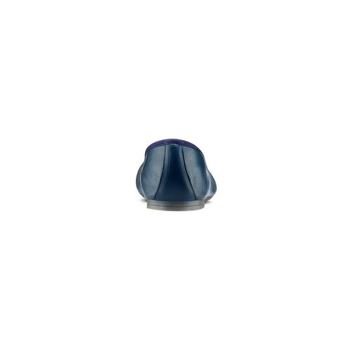 Ballerine da donna bata, blu, 524-9144 - 15