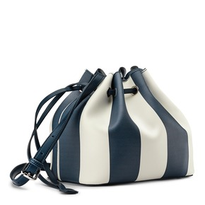 Borsa a secchiello bata, blu, 961-9390 - 13