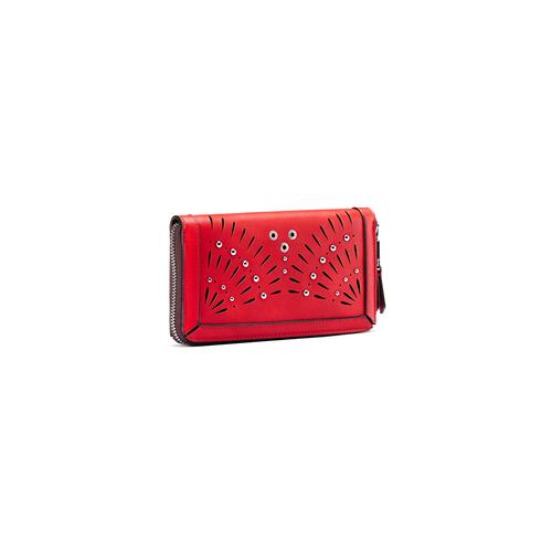 Portafoglio da donna bata, rosso, 941-5164 - 13