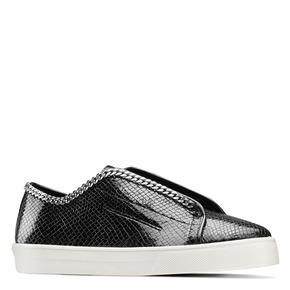 Sneakers con dettaglio catena bata, nero, 541-6396 - 13