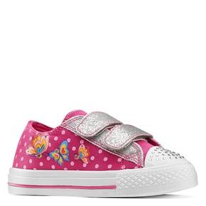 Sneakers con luci mini-b, rosa, 229-5110 - 13