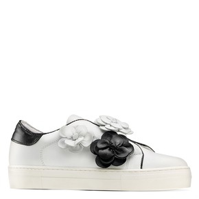 Sneakers senza lacci bata, bianco, 544-1374 - 13