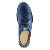 Desert Boots in suede bata, blu, 823-9420 - 17