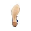 Sandali con tacco basso insolia, blu, 669-9131 - 19