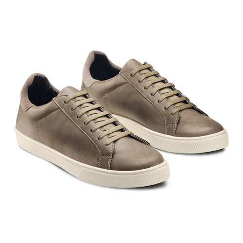 Sneakers da uomo bata, beige, 841-2730 - 16