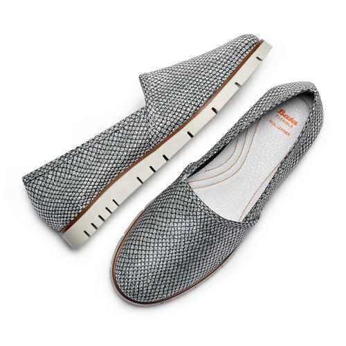 Mocassini Flexible flexible, bianco, 515-1148 - 26