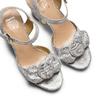 Sandali con fibbia insolia, bianco, 769-1175 - 26