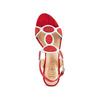 Sandali con tacco basso insolia, rosso, 669-5297 - 17