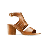 Sandali in pelle bata, marrone, 764-3159 - 13