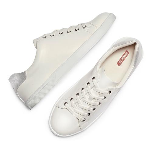 Sneakers da donna bata-rl, bianco, 529-1322 - 26