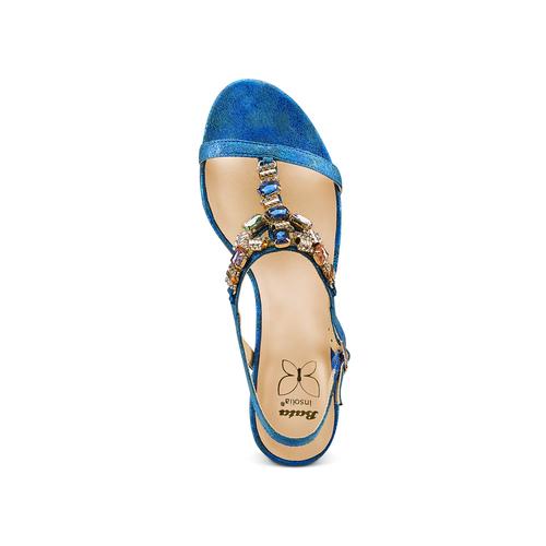 Sandali Insolia insolia, blu, 669-9148 - 17