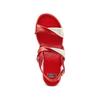 Sandali con zeppa bata, rosso, 661-5282 - 17