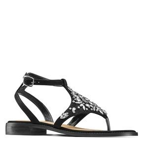 Sandali infradito bata, nero, 569-6205 - 13