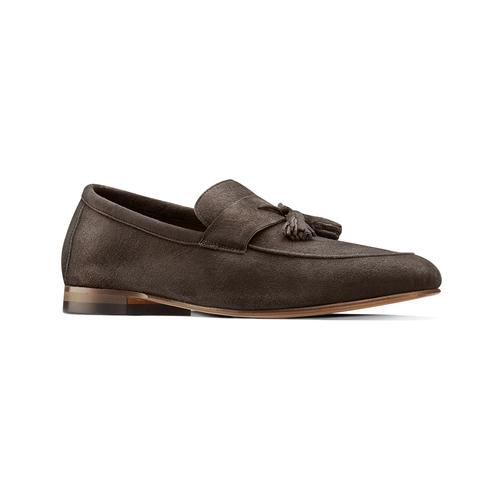 Mocassini con nappa bata-the-shoemaker, marrone, 853-4140 - 13
